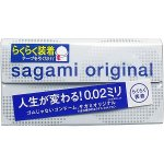 SAGAMI ORIGINAL 0.02 QUICK (6Pcs)